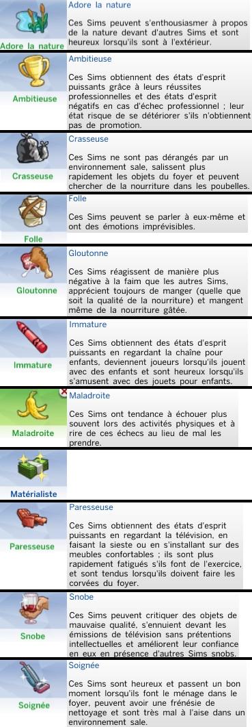 29  sims 4 dem create a sims creer un sims traits de caractere etat esprit