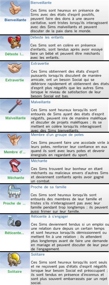 30  sims 4 dem create a sims creer un sims trait de caractere social