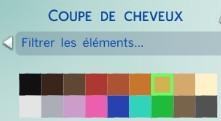 33  sims 4 dem create a sims creer un sims couleur cheveux
