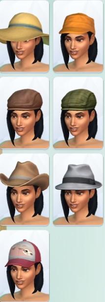 39  sims 4 dem create a sims creer un sims chapeaux casquettes