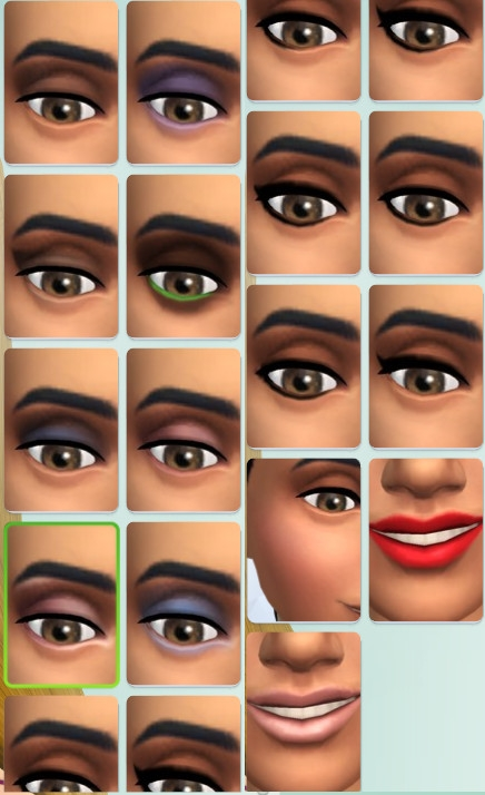 40  sims 4 dem create a sims creer un sims maquillage make up