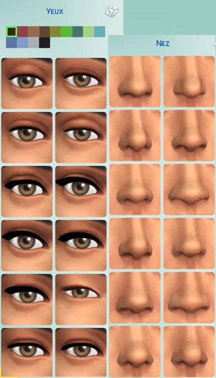 43  sims 4 dem create a sims creer un sims forme nez yeux