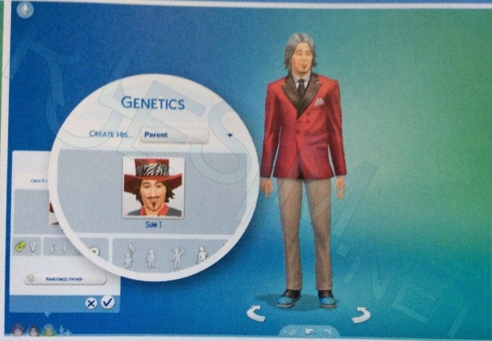 how to change age in cas sims 4
