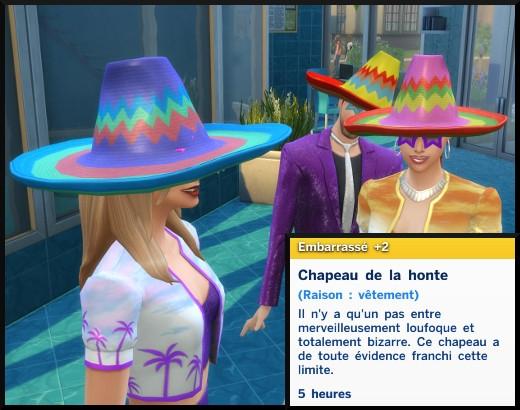 9 sims 4 edition deluxe premium roi de la fete chapeau de la honte
