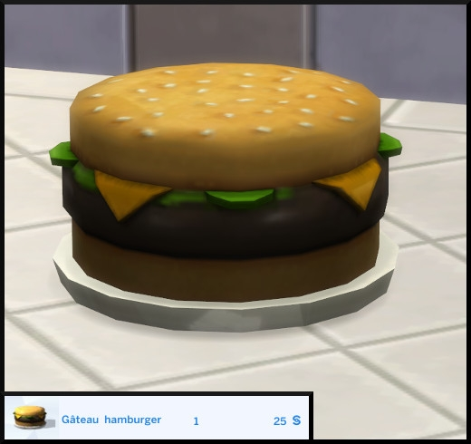 24 sims 4 edition deluxe premium nuit inoubliable gateau hamburger