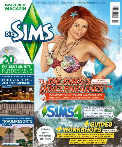 sims 4 infos informations inédites sortie magazine allemand