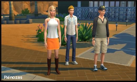 Sims  Ville Chemin