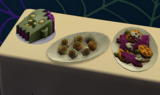 sims 4 objets effrayant nourriture zombie biscuit oeil