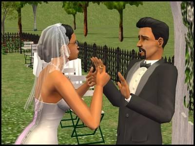 sims 2 premades mariage sandra gothik don lothario arche alliance refus abandon autel