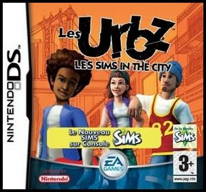 les Urbz sims in the city dérivé sims 2 jeu vidéo console