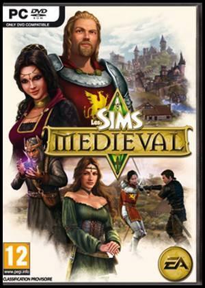 les sims médiéval pochette couverture boitier moyen-âge jeu vidéo