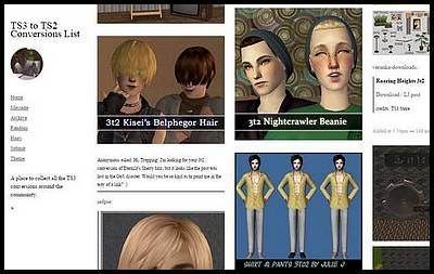 sims 2 conversion sims 3 exemple site simblr