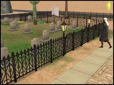 zarbville sims 2 olivia chimère maison cimetière