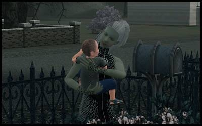 midnight hollow sims 3 olive specter fils nerveux sujet bambin