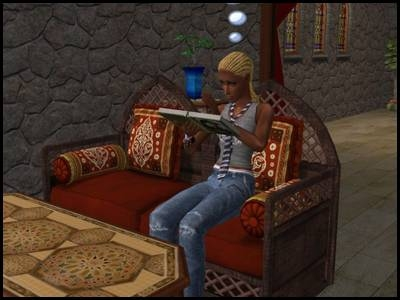 zarbville sims 2 ophélie dainottan dans sa chambre