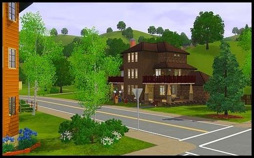8 famille gothik sims 3 sunset valley maison sonia galantome