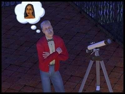 27 famille gothik sims 2 montsimpa vladimir âgé télescope nuit interrogation où est sonia mystère disparue ignorance
