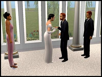 simpa mary-sue daniel mariage union amour cérémonie