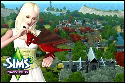 sims 3 dragon valley vallée monde présentation