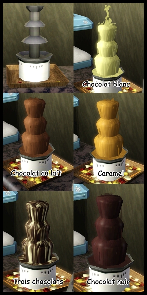sims 3 store cirque celebration fontaine chocolat. Black Bedroom Furniture Sets. Home Design Ideas