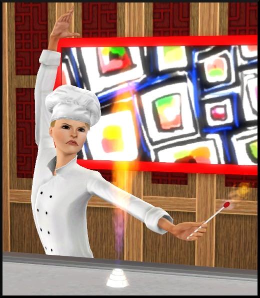 Sims 3 store inspiration japonaise for Salle a manger japonaise