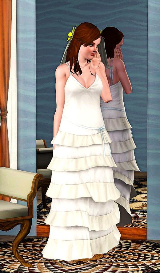 Gateaux de mariage sims 4