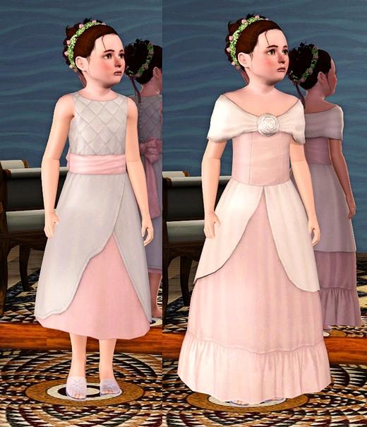sims 3 generation robe de mariee