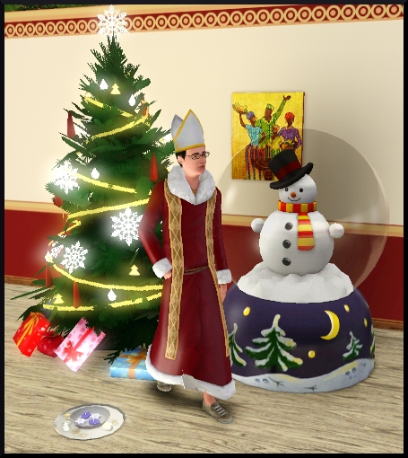 Sims  Saisons Comment Accrocher Des Decorations Lumineuses