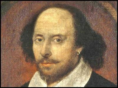 portrait de william shakespeare auteur anglais