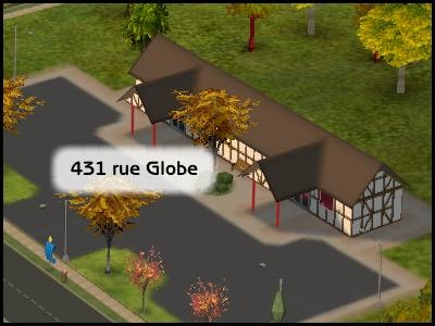 sims 2 veronaville rue du globe référence shakespeare