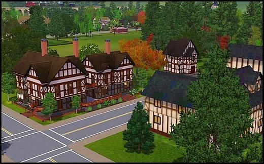 sims 3 monde veronaville reproduction de quartier sims 2 conversion 2to3