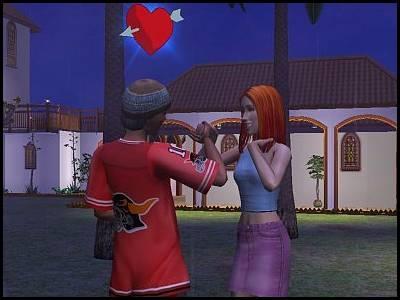 sims 2 veronaville roméo monty et juliette capp tombant amoureux
