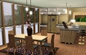 Cuisine/salle à  manger 4ième étage