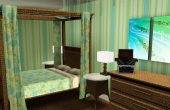 Chambre coté lit 4ième étage