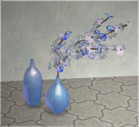 Recoloration bleue