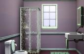 Salle de bain accessible par la chambre