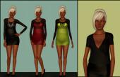 Présentation des trois tenues du pack Sexy mamie