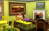 Salon jaune