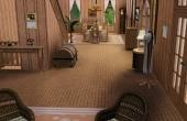 Premier étage, entrée et salle à manger