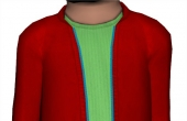 3 canaux de recoloration : veste, tee-shirt et zip