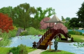 Le pont et l'étang