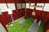 L'intérieur du petit temple