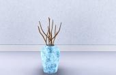 Vase avec branches
