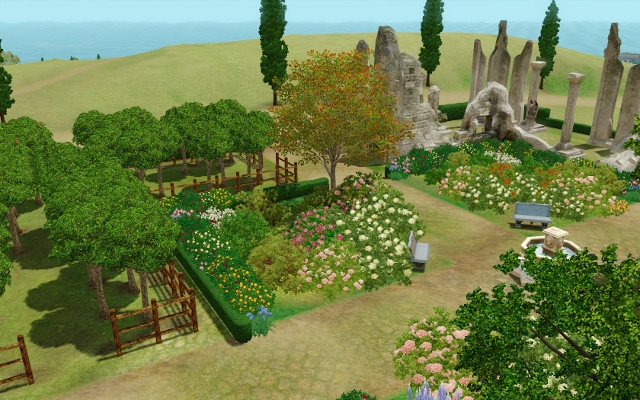 Jardin m di val for Jardin medieval