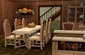 Rez de chaussée, cuisine salle à manger