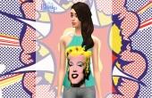 Top Marilyn - Mannequin Emilie Clarke par Poupouss