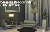 Bayadere monochrome
