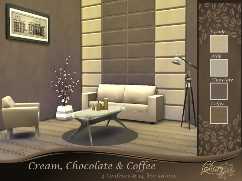 Collection Gourmande Cream, Chocolate & Coffee