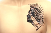 Tattoo indien tribal