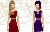 Modèle Rouge & Violet